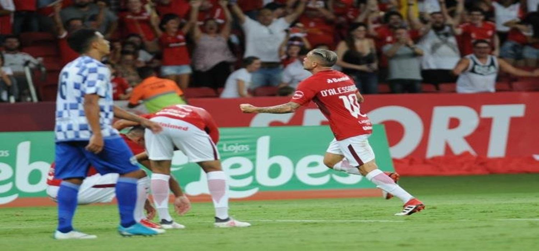 Com boa atuação, Inter goleia o São José e encaminha classificação